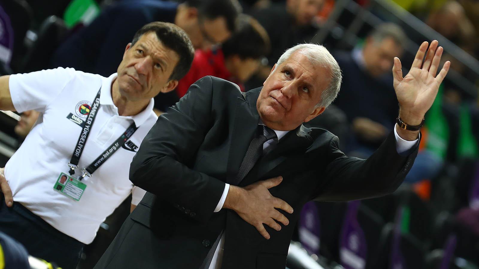 Başantrenörümüz Zeljko Obradovic: Fenerbahçe ile kupa kazanmak her zaman çok güzel