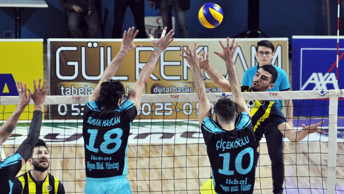 İkbal Afyon Belediye Yüntaş 1-3 Fenerbahçe