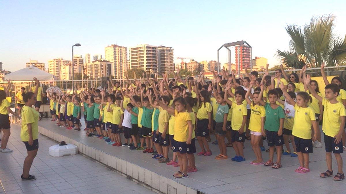 Fenerbahçe Yaz Yüzme Okulumuzda 1. dönem sona erdi