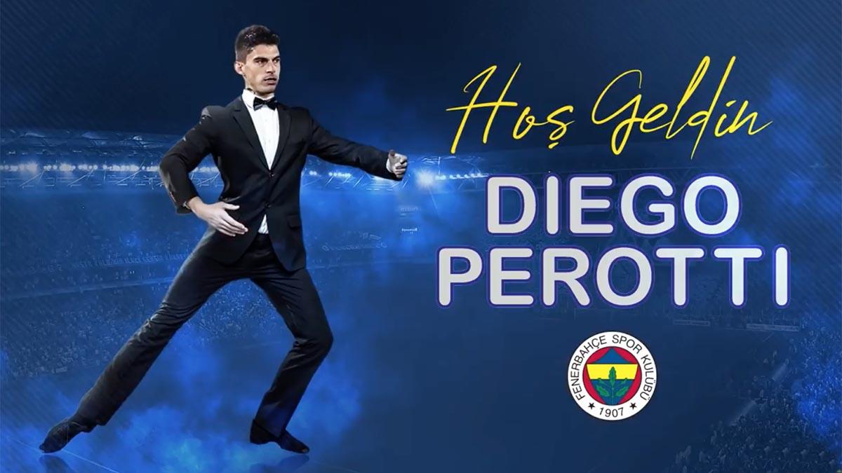 Hoş Geldin Diego Perotti 💛💙