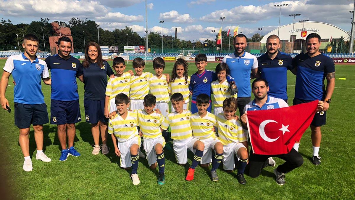 Futbol altyapı takımlarımız ulusal ve uluslararası turnuvalarda mücadele ediyor