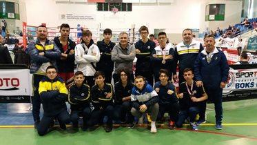 Boksörlerimizden Yıldız Erkekler Türkiye Ferdi Boks Şampiyonası'nda 4 madalya