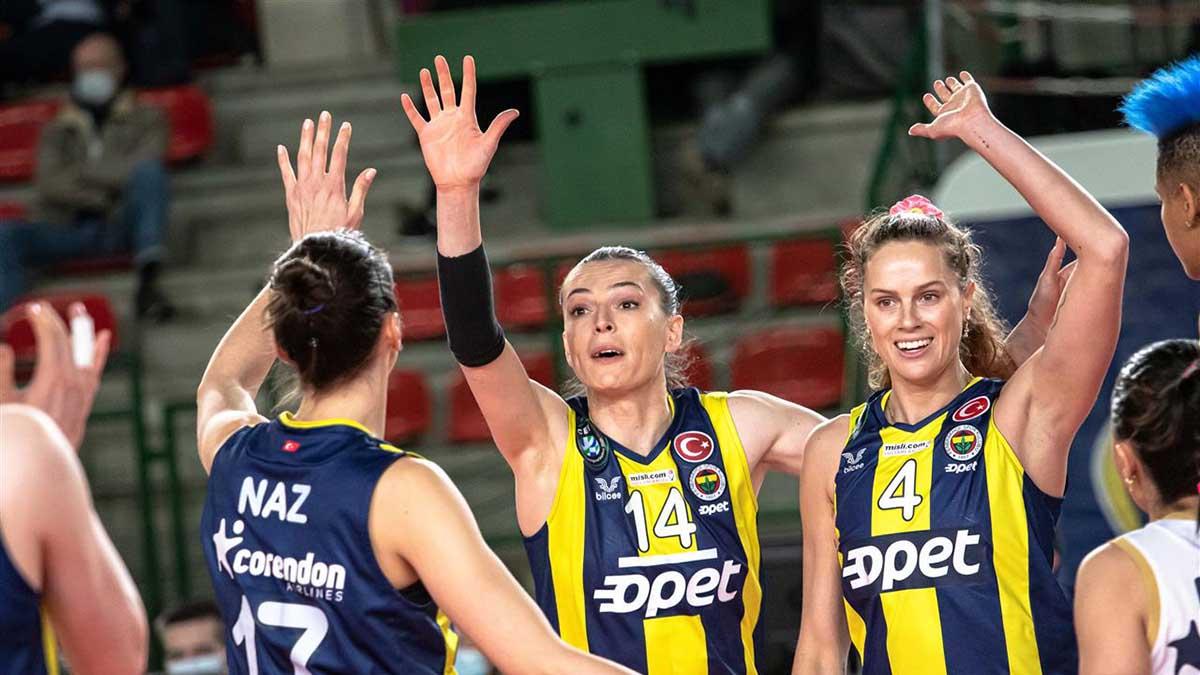 Fenerbahçe Opet Şampiyonlar Ligi B Grubu'nda ikinci devreye galibiyetle başladı