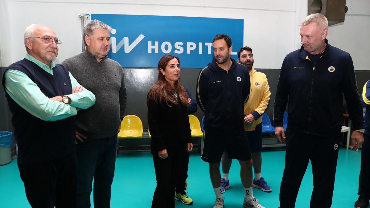Erkek Voleybol Takımımızın Başantrenörü Mariusz Sordyl takımla ilk antrenmanına çıktı