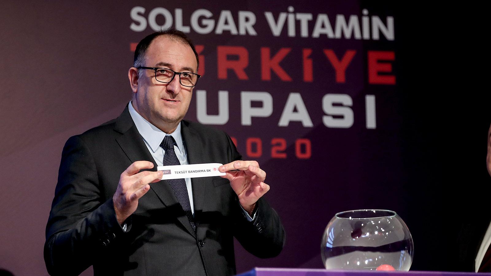 Solgar Vitamin Türkiye Kupası çeyrek finalinde rakibimiz Teksüt Bandırma