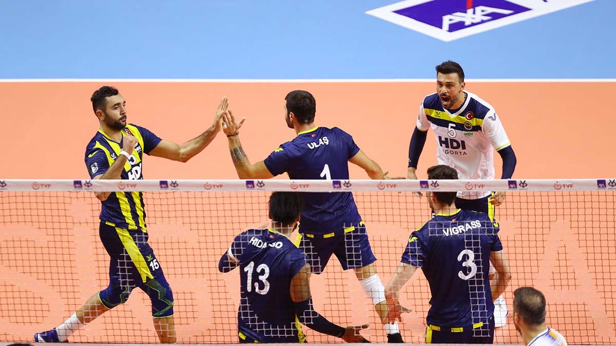 Tokat Belediye Plevne 2-3 Fenerbahçe HDI Sigorta