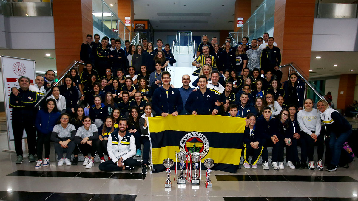 Fenerbahçe Swimming Branch became the champion of Turkey