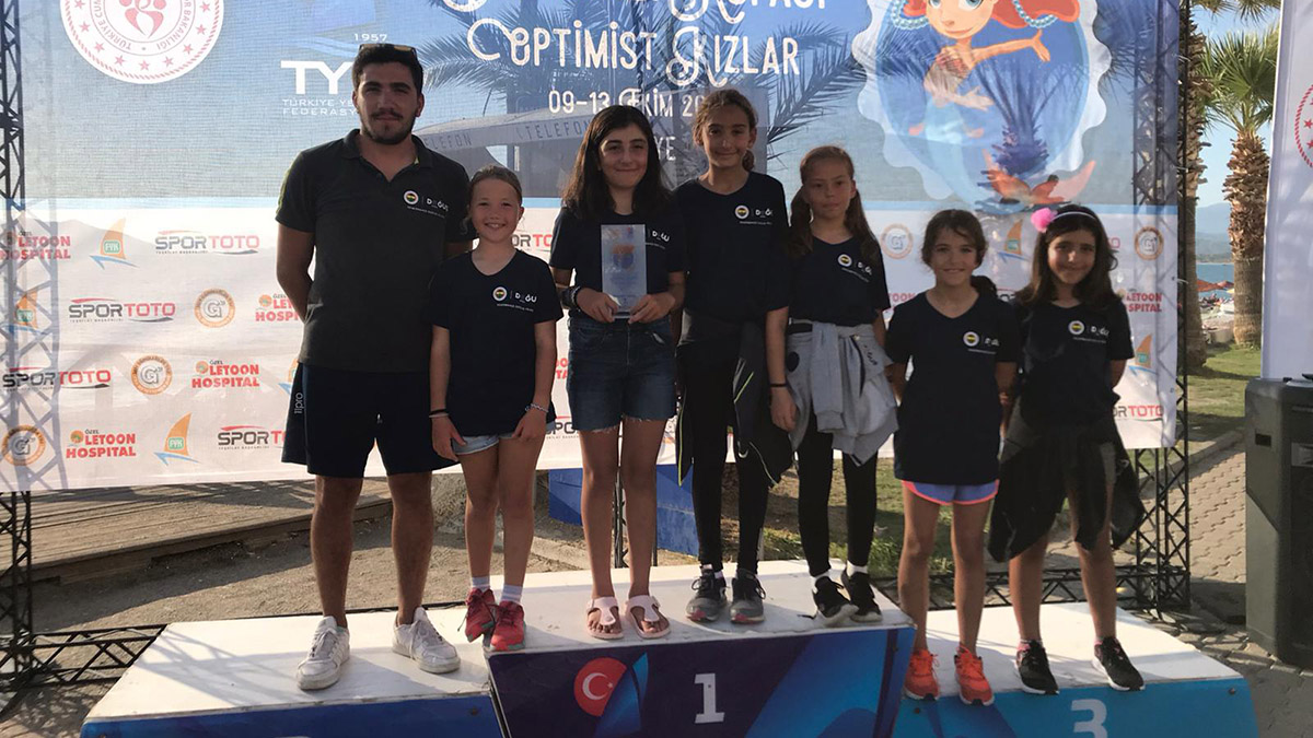 Deniz Kızı Yelken Kupası sona erdi