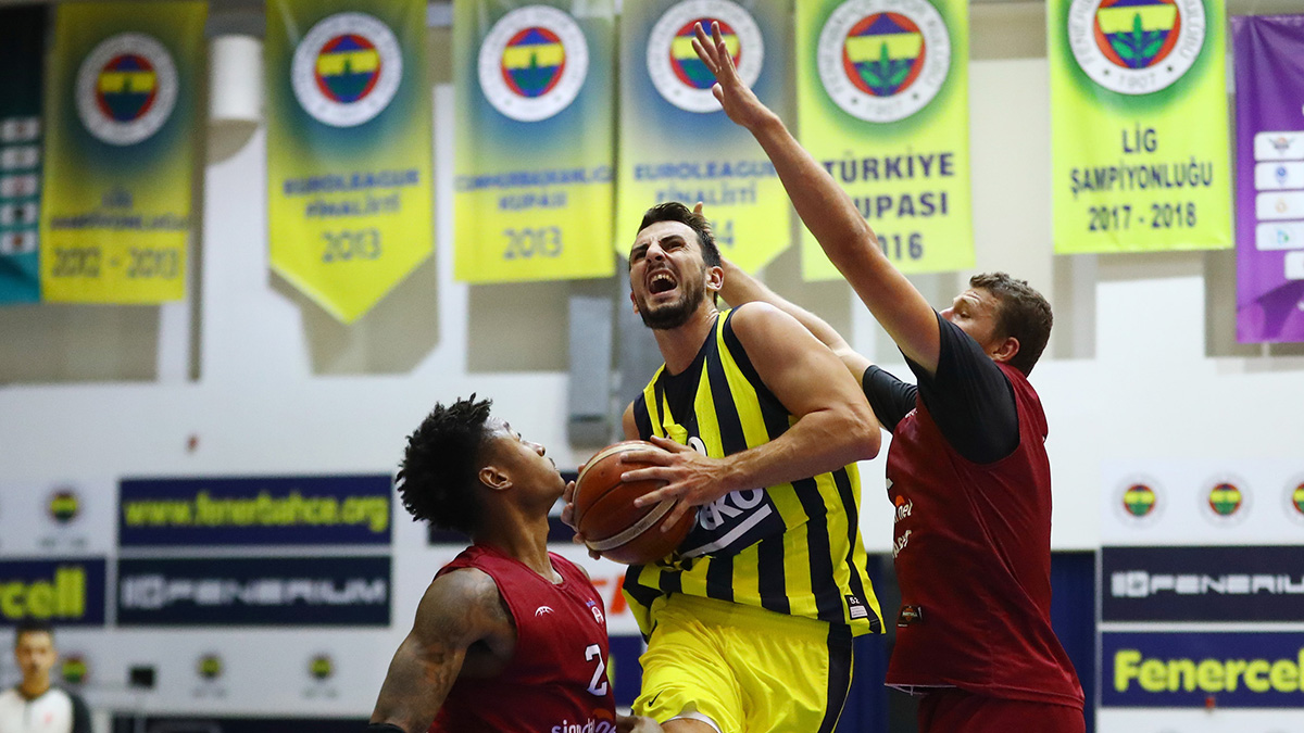 Fenerbahçe Beko 89-58 sigortam.net İTÜ Basket