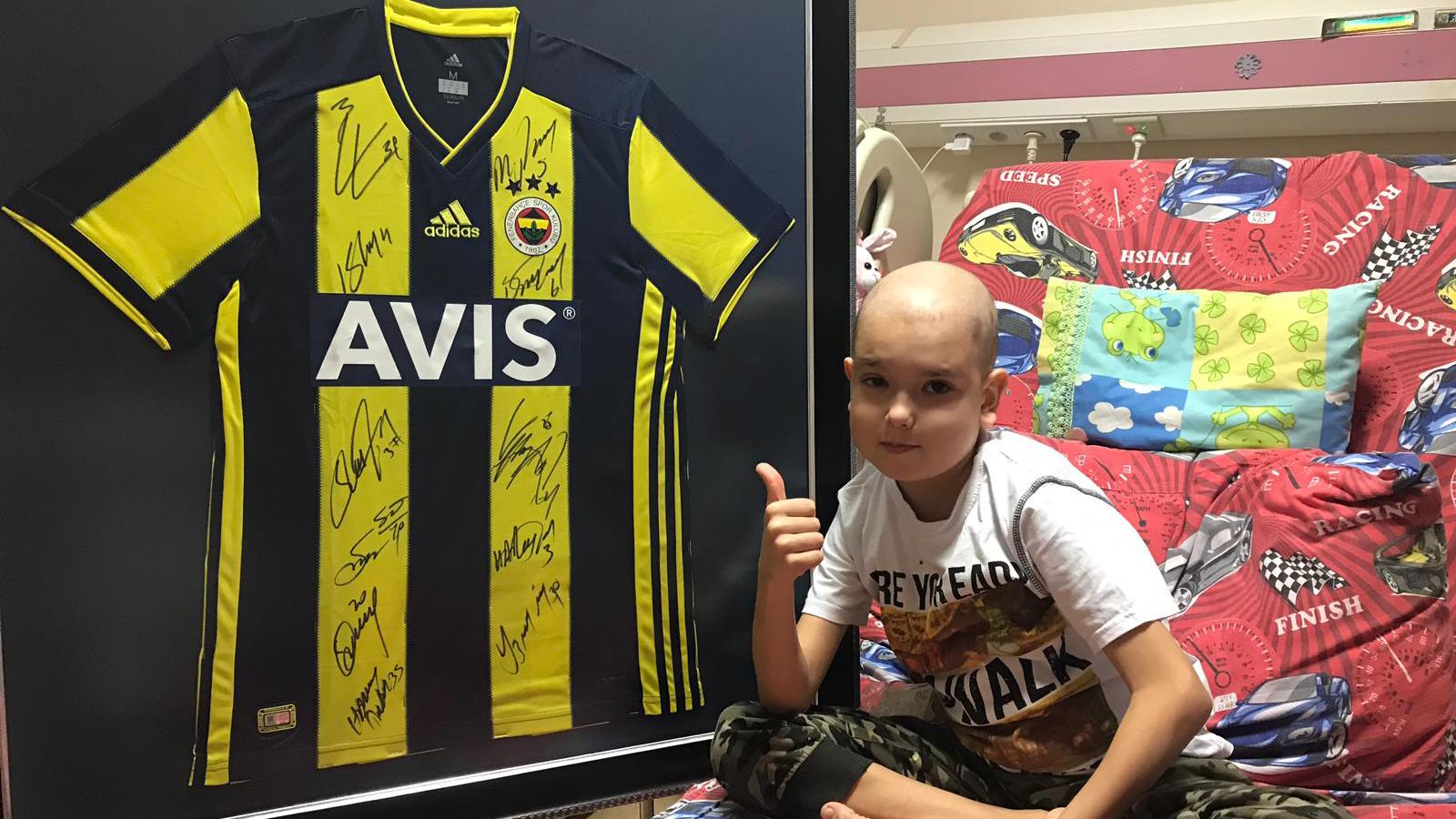 Bodrum Derneğimizden tedavi gören küçük Mustafa'ya destek
