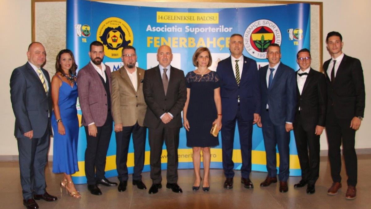 Romanya Fenerbahçeliler Derneği 18. yaşını kutladı