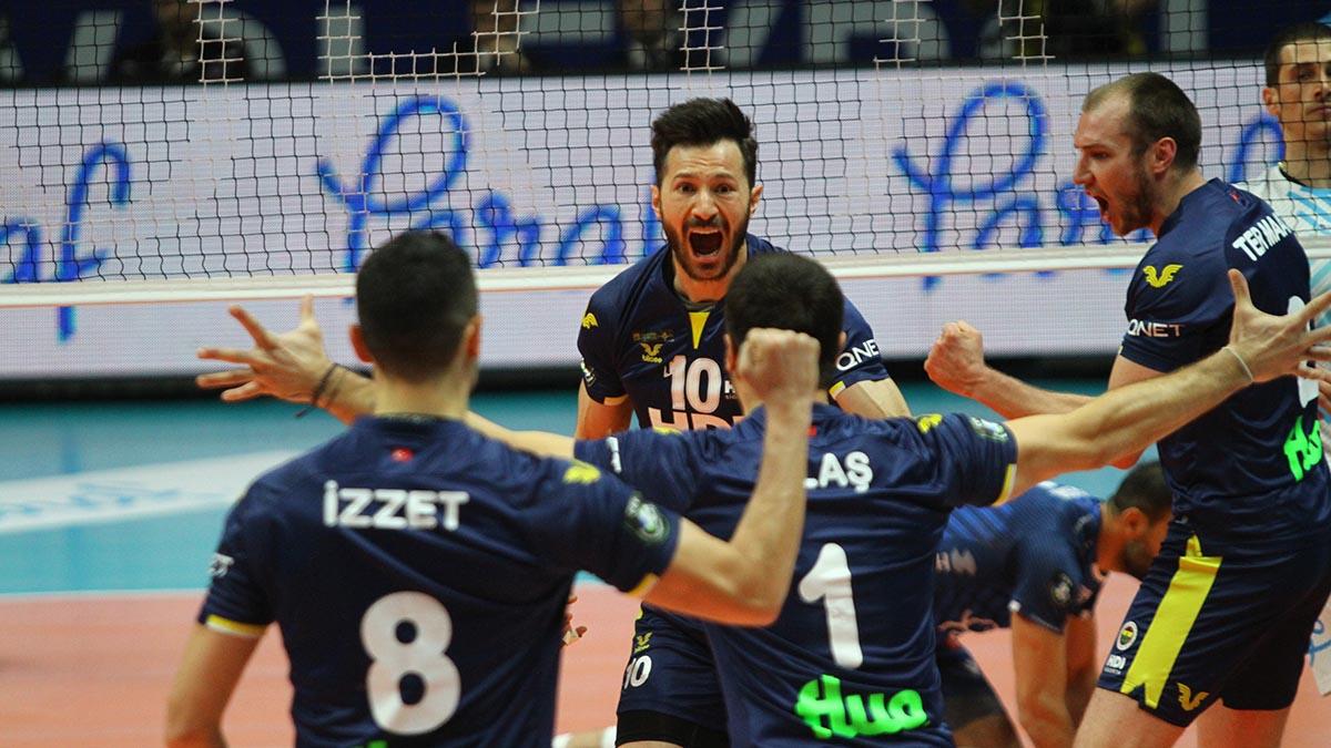 Halkbank 0-3 Fenerbahçe HDI Sigorta