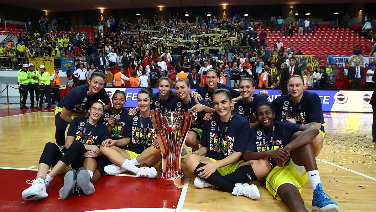 Potanın Kraliçeleri, Cumhurbaşkanlığı Kupası zaferini değerlendirdi