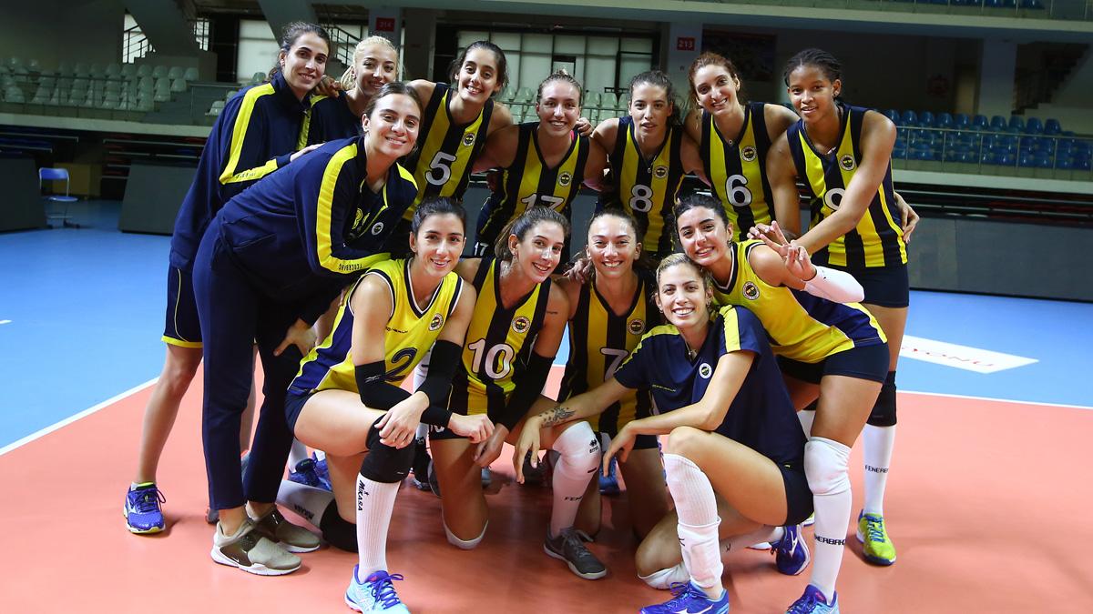 Sarı Melekler, THY ile yaptığı hazırlık maçını 4-0 kazandı
