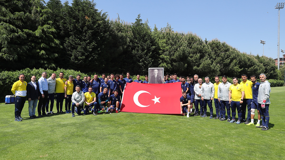 Takımımız 19 Mayıs'ı kutladı