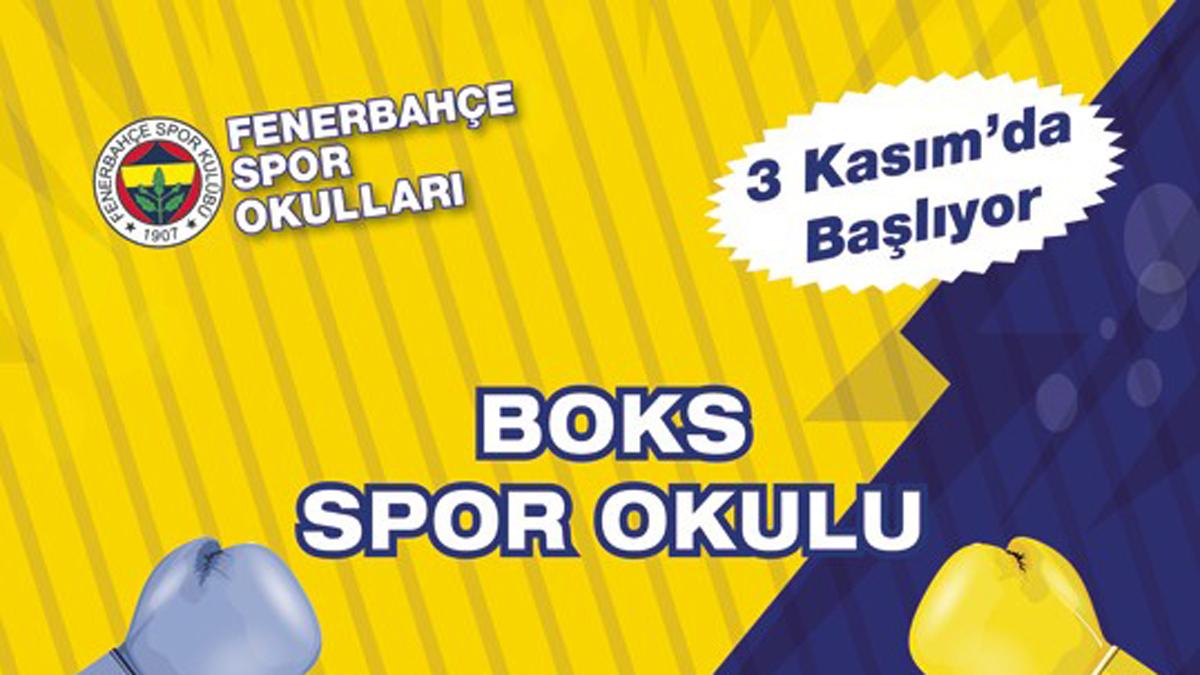 Fenerbahçe Boks Spor Okulu kayıtları devam ediyor