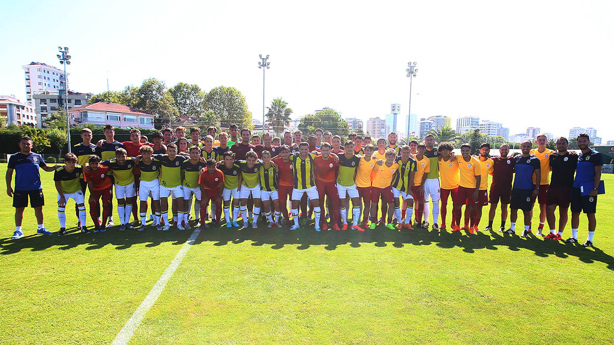 Fenerbahçe 3-3 Galatasaray (U19 Hazırlık Maçı)