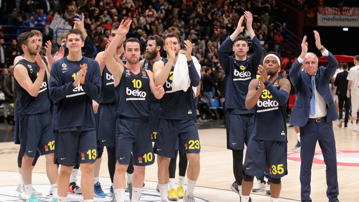 Fenerbahçe Beko EuroLeague'de normal sezonu lider bitirmeyi garantiledi