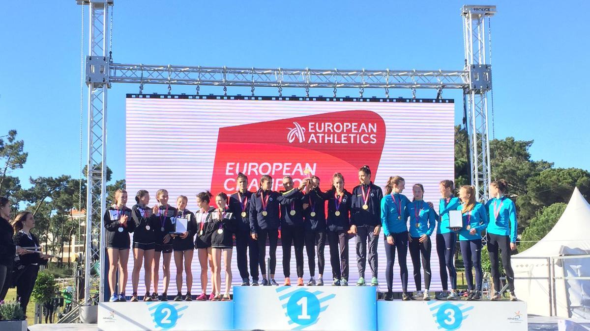 Genç Kadın Atletizm Takımımız Avrupa Şampiyonu