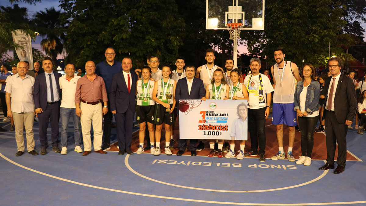 Berkay Akbaş Sokak Basketbol Turnuvası üçüncü kez düzenlendi