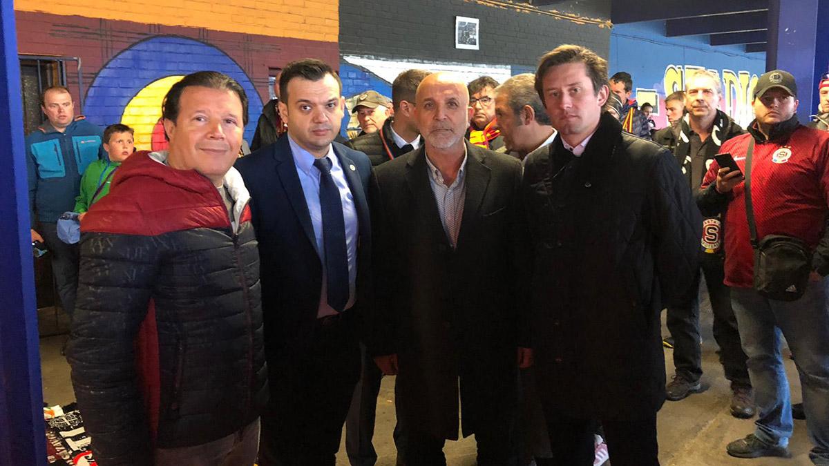Prag Fenerbahçeliler Derneğimiz, Josef Sural'ın cenaze törenine katıldı