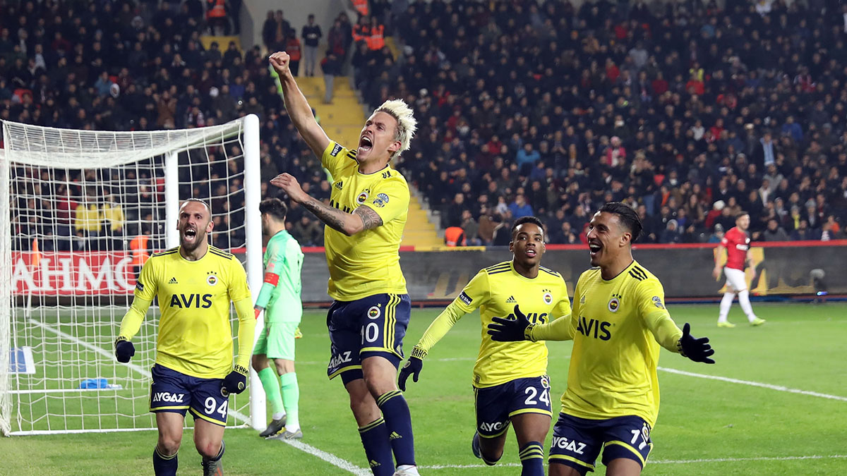 Gaziantep Futbol Kulübü 0-2 Fenerbahçe