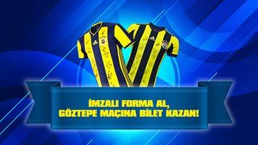 Fenerbahçe-Göztepe maçını Fenercell'in davetlisi olarak izle!