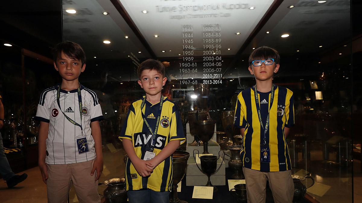 1000'i aşkın minik kalp Fenerbahçe ile buluştu