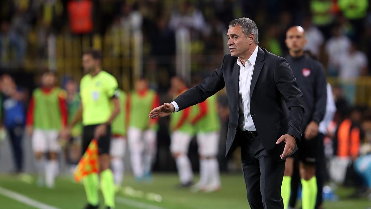 Teknik Direktörümüz Ersun Yanal'dan Antalyaspor maçı sonrası açıklamalar