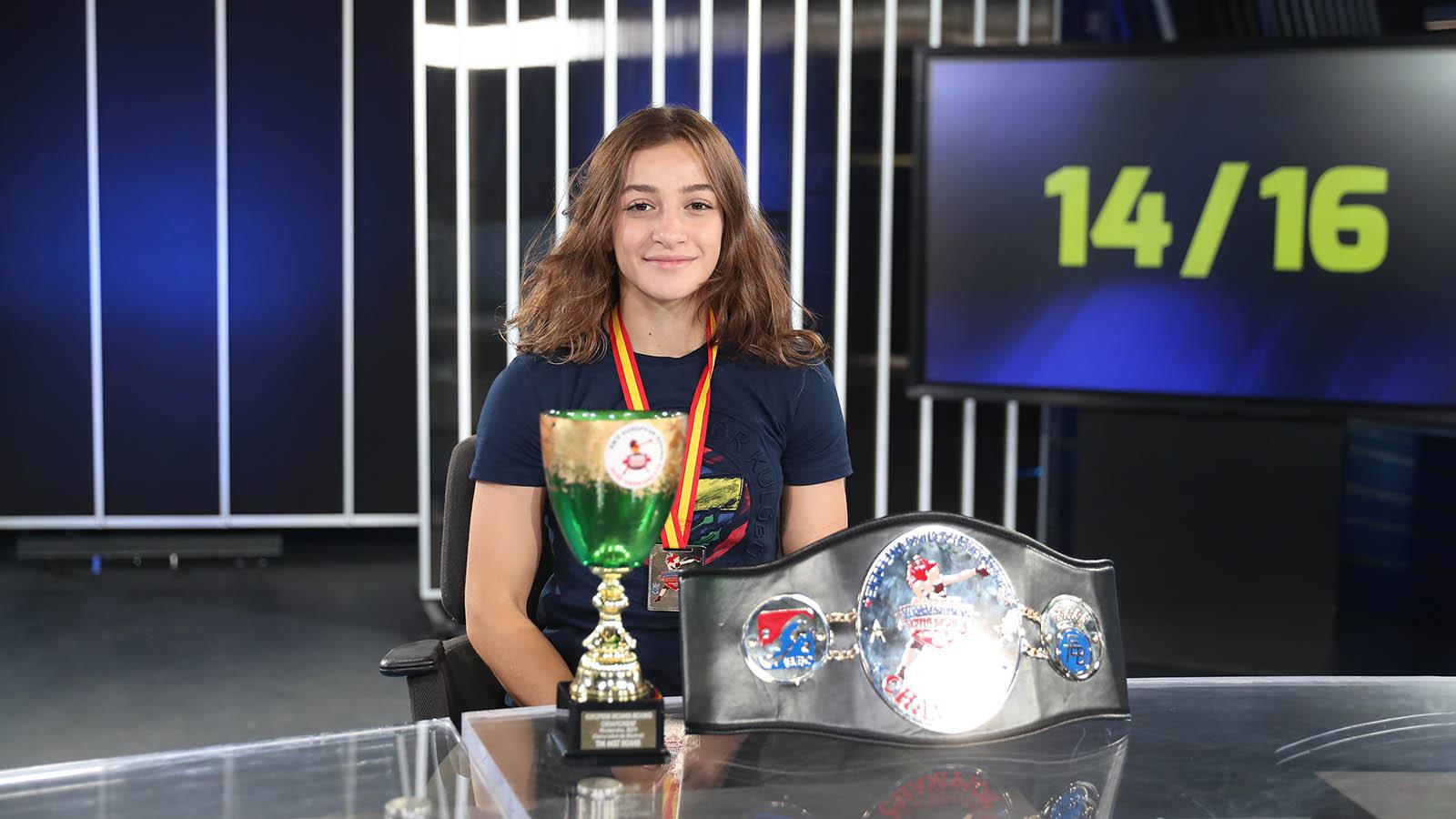Avrupa Şampiyonu boksörümüz Buse Naz Çakıroğlu: Asıl hedefimiz Olimpiyatlar