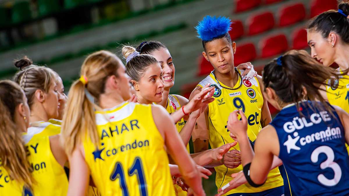 Fenerbahçe Opet 3-0 Calcit Volley Kamnik
