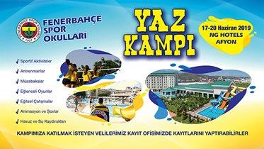 Fenerbahçe Spor Okulları Yaz Kampı 17-20 Haziran