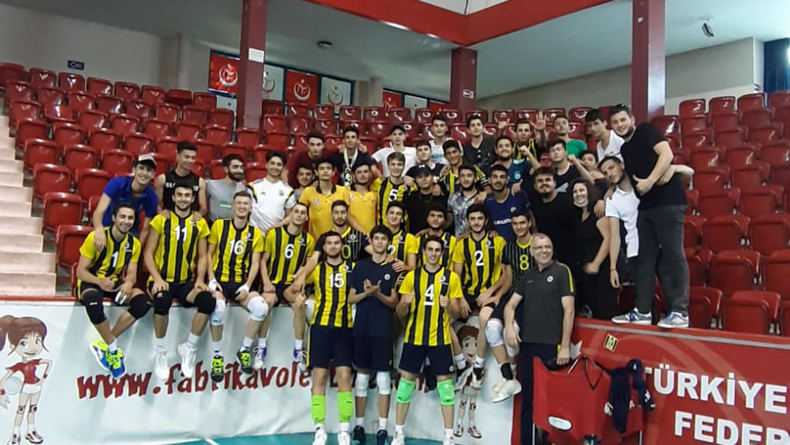 Fenerbahçe 3-0 Melikgazi Belediyesi (Genç Erkekler Türkiye Şampiyonası)