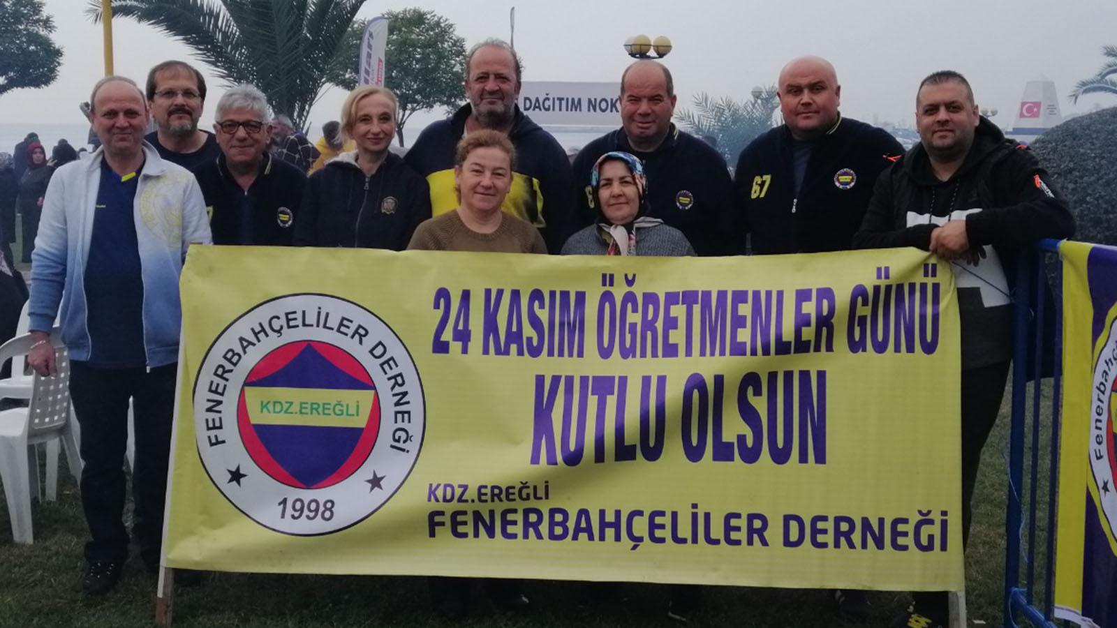 Karadeniz Ereğli Derneğimiz Öğretmenler Günü'nü kutladı