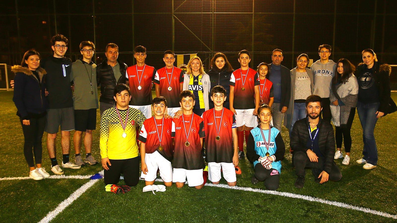 Çocuk ve Gençlik Kulübümüz, Halı Saha Turnuvası gerçekleştirdi