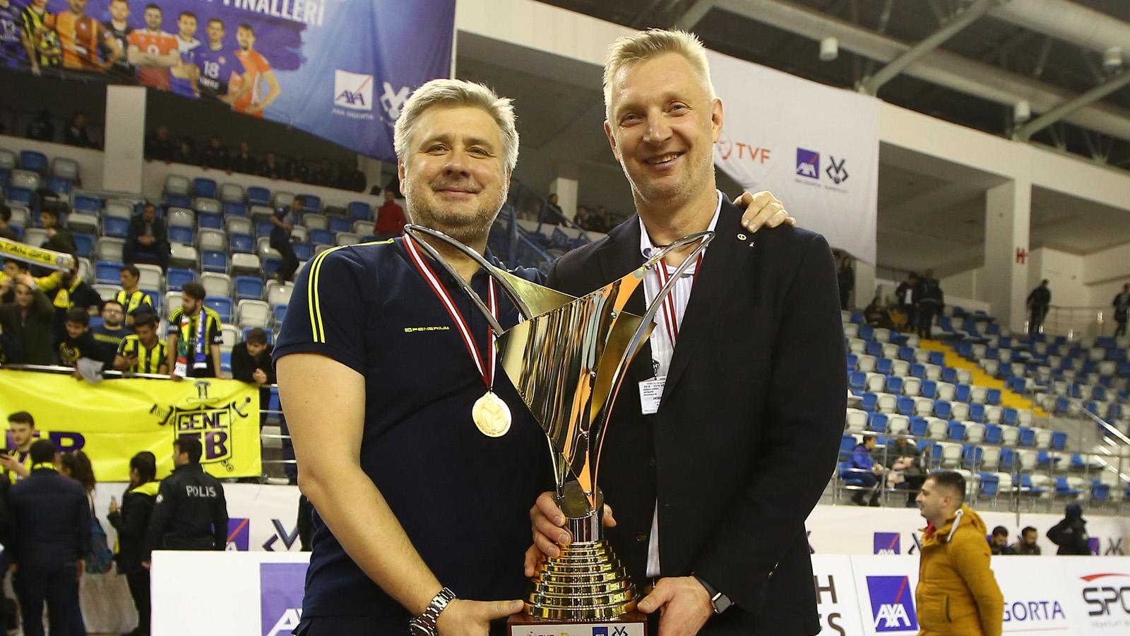 Başantrenörümüz Mariusz Sordyl: Çok mutlu ve gururluyum