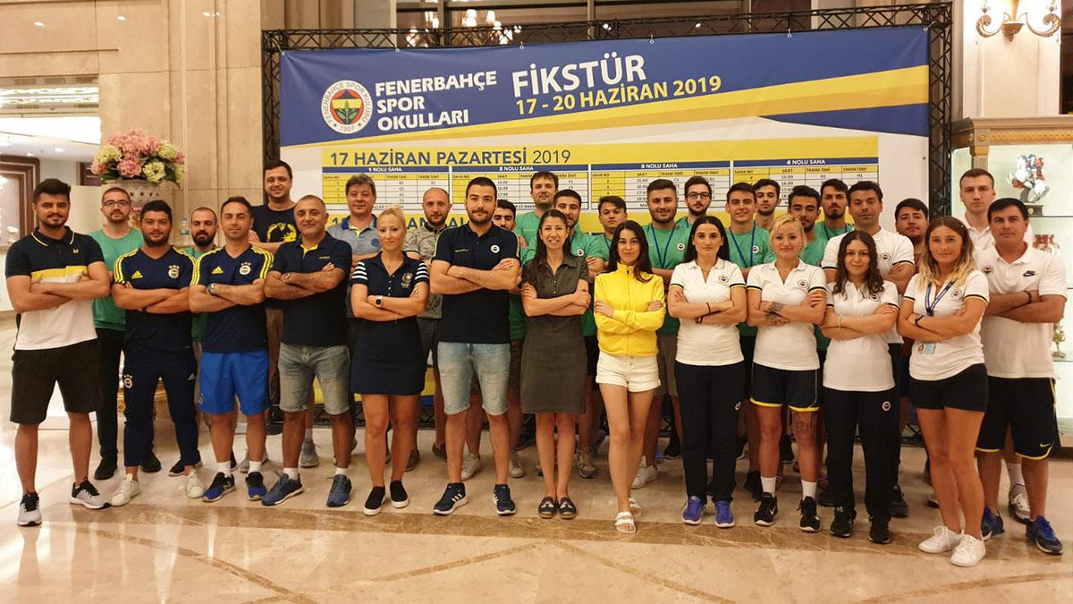 Fenerbahçe Spor Okulları Yaz Kampı Tamamlandı