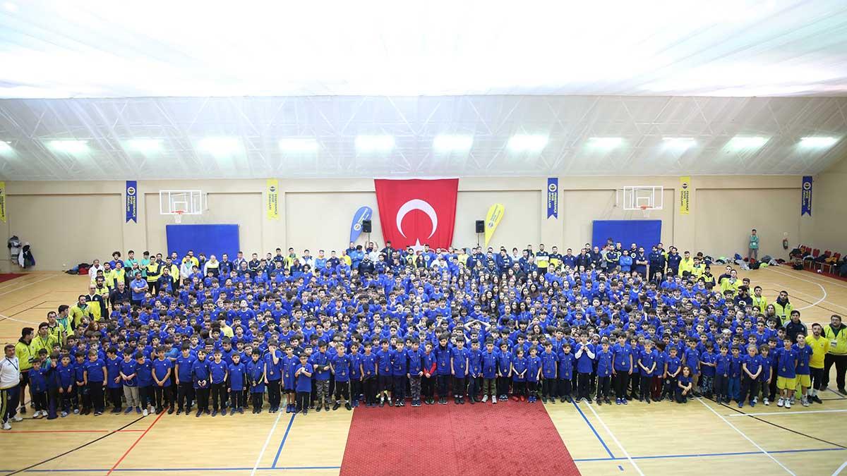 Fenerbahçe Spor Okulları Sömestre Kampı Tamamlandı