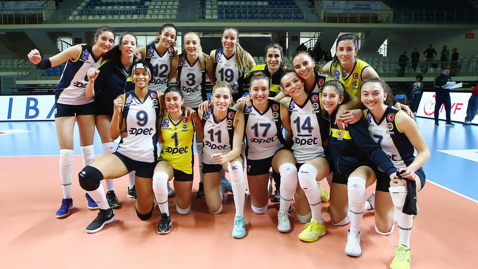 Fenerbahçe Opet İtalya deplasmanında