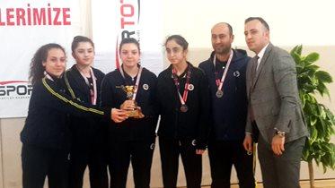 Masa Tenisi Genç Kadın Takımımız, Türkiye 4'üncüsü oldu
