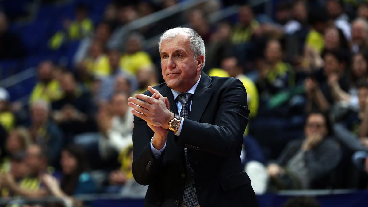 Başantrenörümüz Zeljko Obradovic: Galibiyetten ötürü oyuncularımı tebrik ediyorum