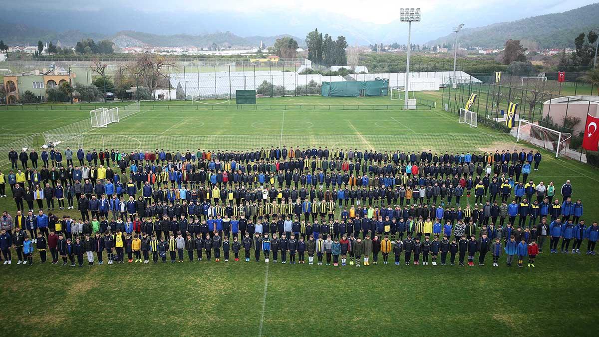 Fenerbahçe Spor Okulları Sömestre Kampı'nda 3.gün geride kaldı