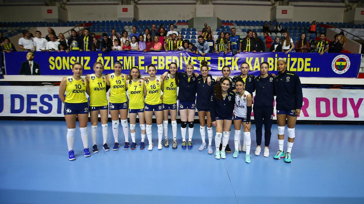 Fenerbahçe Opet 3-0 Beylikdüzü Voleybol İhtisas