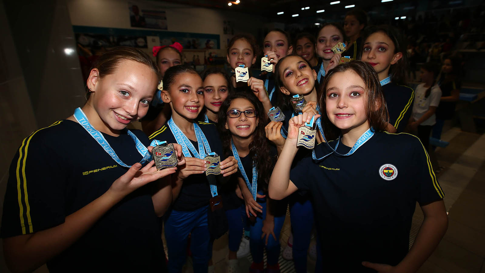 Sporcularımız Türkiye Artistik Kış Yüzme Şampiyonası'nı zirvede tamamladı