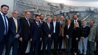 İnegöl Fenerbahçeliler Derneğimizden Başkanımız Ali Koç'a ziyaret