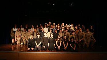 Fenerbahçe Koleji'nde Çanakkale Zaferi'nin 104. yıl dönümü töreni