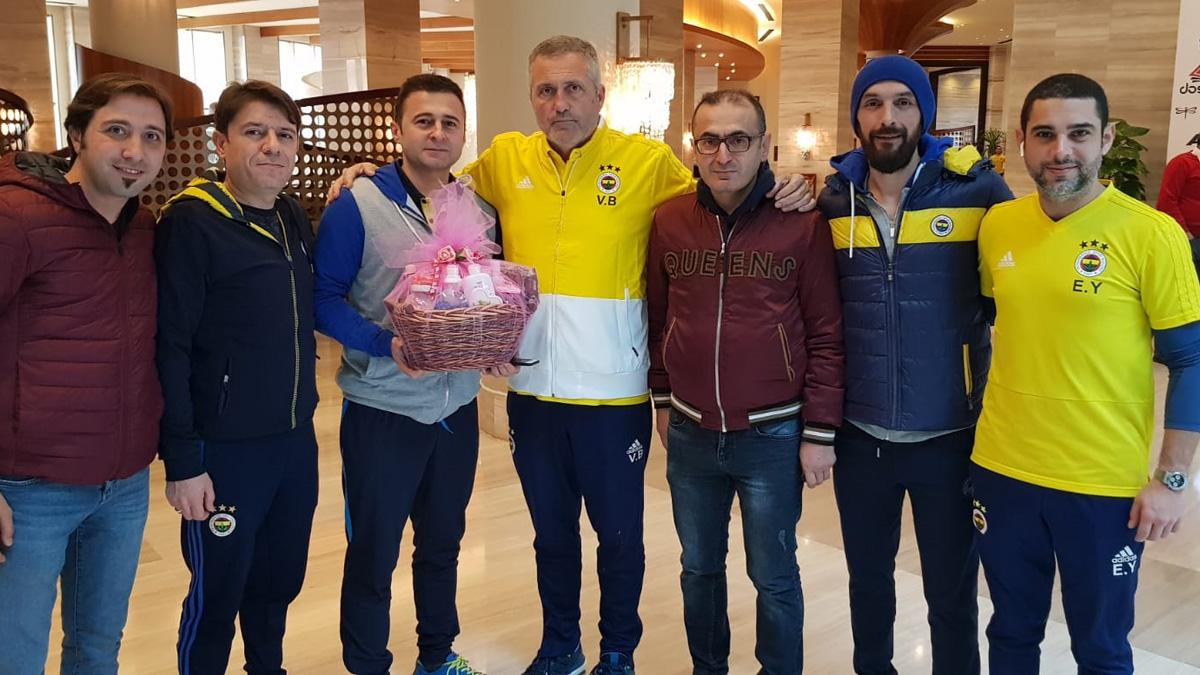 Yalvaç Fenerbahçeliler Derneğimizden futbolcularımıza ziyaret