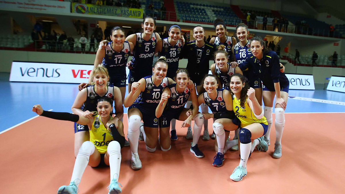 Fenerbahçe Opet'in konuğu Aydın Büyükşehir Belediyespor