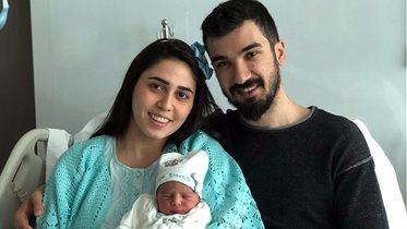Ahmet Karataş baba oldu