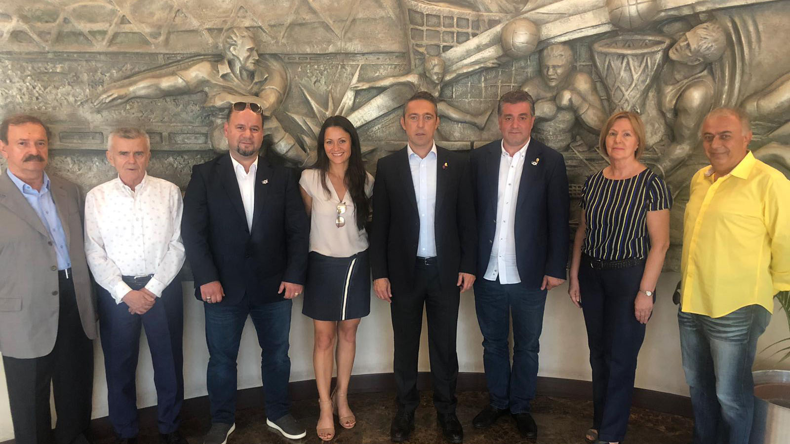 Fenerbahçe USA Derneği'nden Başkanımız Ali Koç'a ziyaret